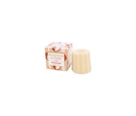 Shampooing Lamazuna à la vanille solide et à la noix de coco pour cheveux secs 55g