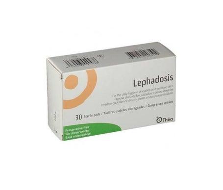 Lingettes imprégnées stériles Lephadosis 30uds