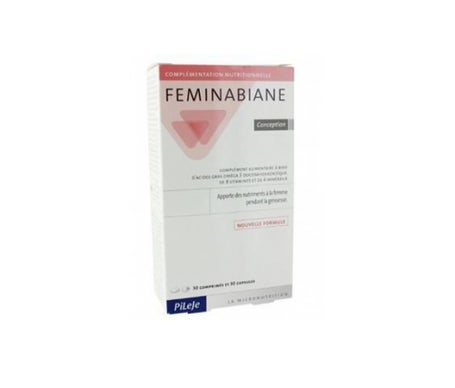Pileje Feminabiane Conception 30 comprimés + 30 capsules