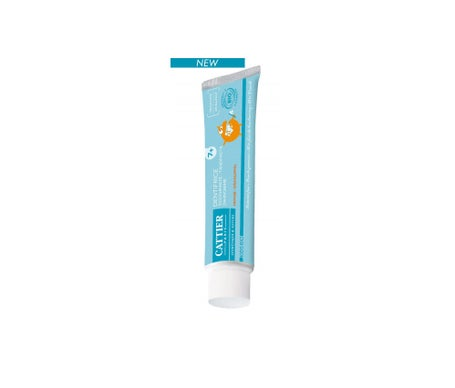 Cattier dentifrice 7 ans et + Goût Orange Bio 50mL