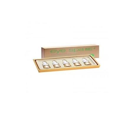 Bl'ane Aromessence ampoules réparatrices avec nutriments pour les paupières inférieures 5x5ml