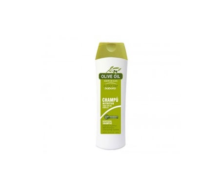 Babaria shampooing nourrissant à l'huile d'olive 400ml