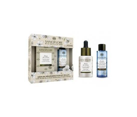 Sanoflore Coffret Elixir Des Reines 30ml + Mini Eau Micellaire Aciana Botanica 50ml