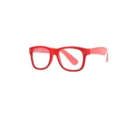 Nordic Vision Granna modèle dioptries rouges +1