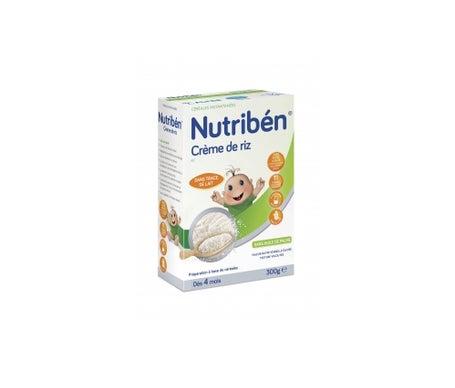 Nutriben Céréales Crème Riz Sans Gluten 300g