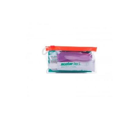 Acofardent Kit de Voyage Dentifrice Anti-caries 25 ml et Brosse à dents