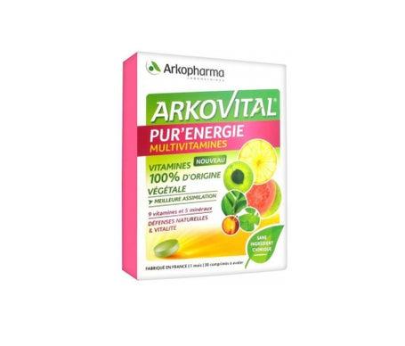 Arkovital Pur'Énergie 30 comprimés